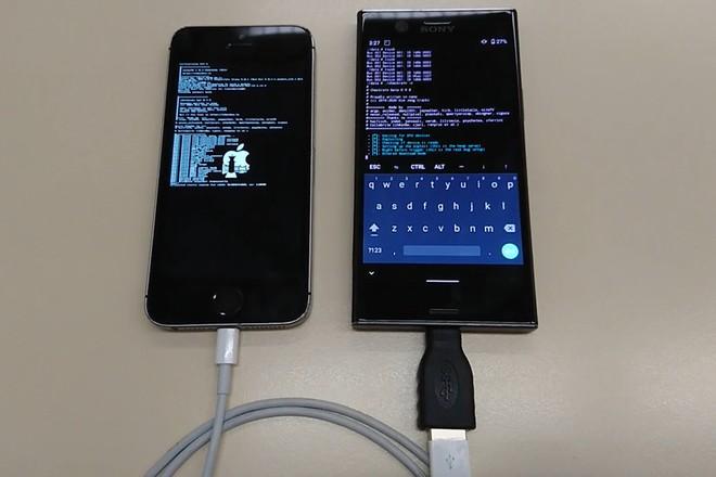 Dùng điện thoại Android để jailbreak iPhone - Ảnh 1.