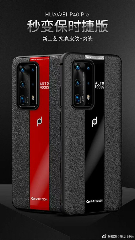 Huawei P40 Pro lộ diện với cụm camera sau cực ngầu - Ảnh 2.
