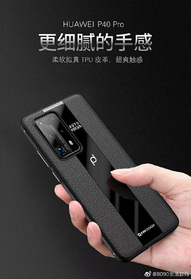 Huawei P40 Pro lộ diện với cụm camera sau cực ngầu - Ảnh 3.