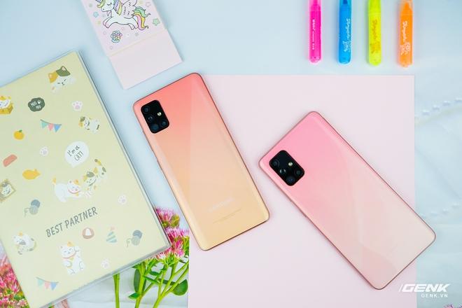 Ảnh thực tế Galaxy A51 và Galaxy A71 màu Hồng mới, quà dành cho chị em phụ nữ nhân ngày 8/3 - Ảnh 3.