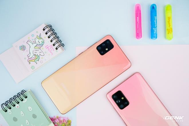 Ảnh thực tế Galaxy A51 và Galaxy A71 màu Hồng mới, quà dành cho chị em phụ nữ nhân ngày 8/3 - Ảnh 4.