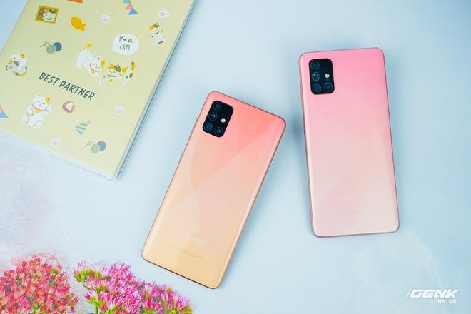 Ảnh thực tế Galaxy A51 và Galaxy A71 màu Hồng mới, quà dành cho chị em phụ nữ nhân ngày 8/3 - Ảnh 2.