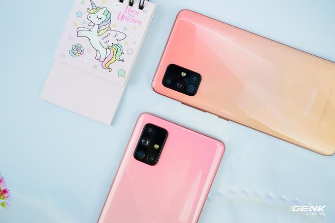 Ảnh thực tế Galaxy A51 và Galaxy A71 màu Hồng mới, quà dành cho chị em phụ nữ nhân ngày 8/3 - Ảnh 7.