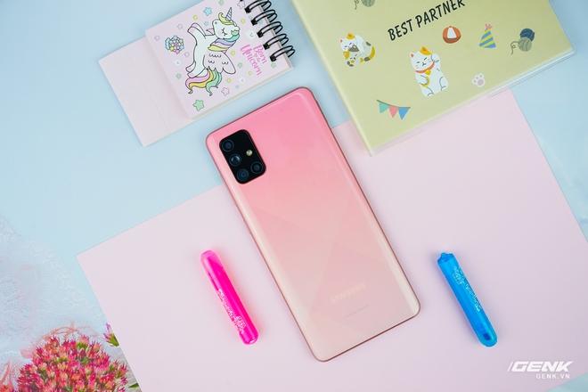 Ảnh thực tế Galaxy A51 và Galaxy A71 màu Hồng mới, quà dành cho chị em phụ nữ nhân ngày 8/3 - Ảnh 10.