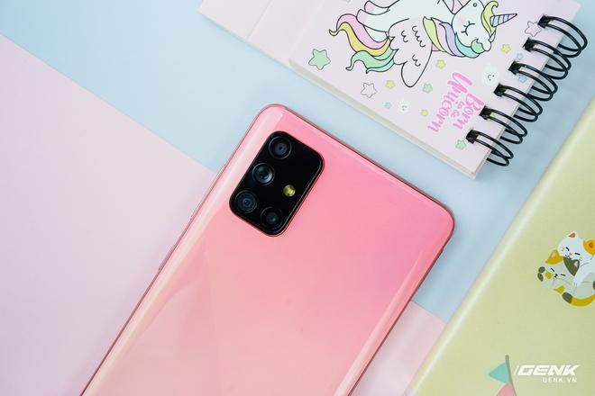 Ảnh thực tế Galaxy A51 và Galaxy A71 màu Hồng mới, quà dành cho chị em phụ nữ nhân ngày 8/3 - Ảnh 8.