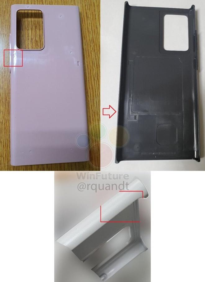 Rò rỉ mới nhất tiết lộ thiết kế của Samsung Galaxy Note 20 - Ảnh 1.