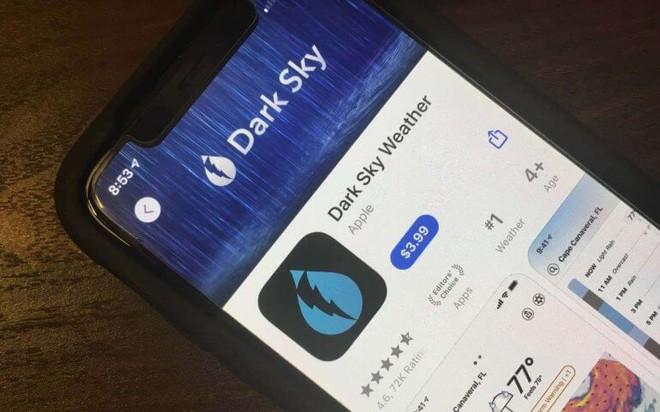 Apple mua lại ứng dụng thời tiết nổi tiếng trên Android, ngay lập tức gỡ nó khỏi Google Play Store - Ảnh 1.