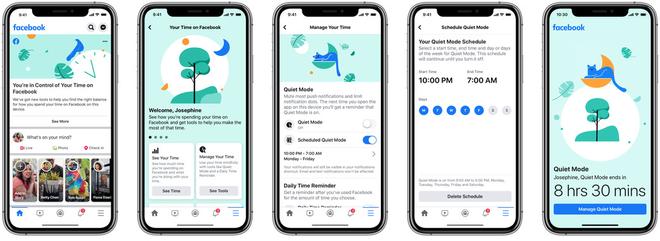 Facebook có thêm chế độ Quiet Mode, giúp bạn tránh xa sự phiền nhiễu của mạng xã hội - Ảnh 2.