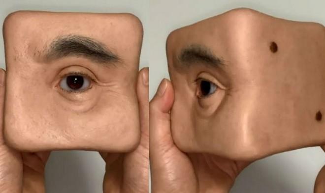 Nghệ sỹ người Nhật tái xuất với cục xí ngầu hình đôi mắt trông đáng sợ như quái vật một mắt - Ảnh 1.