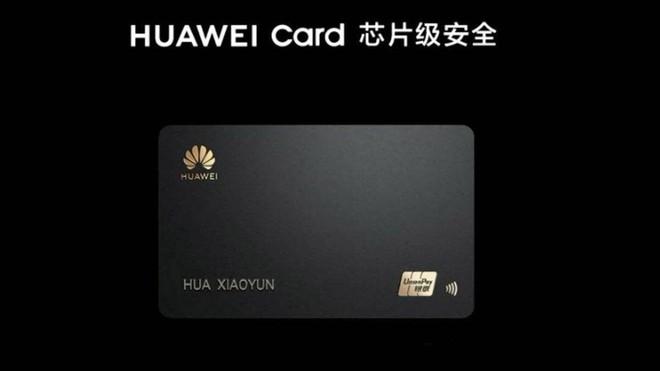 Huawei cũng ra mắt thẻ tín dụng giống Apple - Ảnh 1.