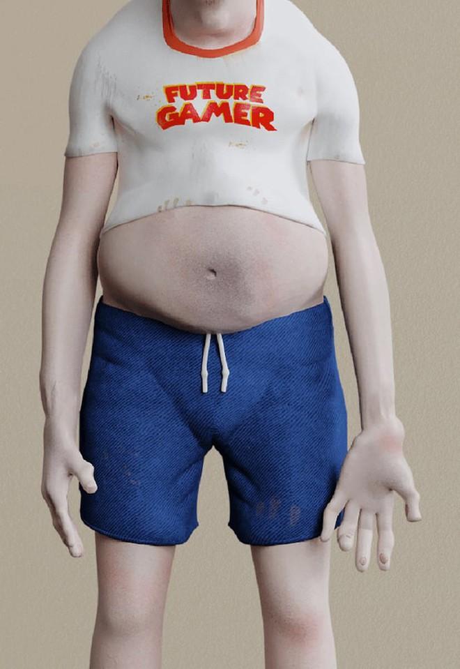 Nếu chơi game hàng chục tiếng mỗi ngày, cơ thể người nghiện game sẽ thay đổi thế nào sau 20 năm nữa? - Ảnh 3.