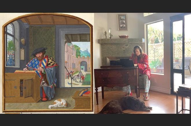 Ở nhà tránh Covid-19, dân mạng thi nhau sử dụng đồ dùng gia đình để bắt chước theo những tác phẩm nghệ thuật nổi tiếng thế giới - Ảnh 6.