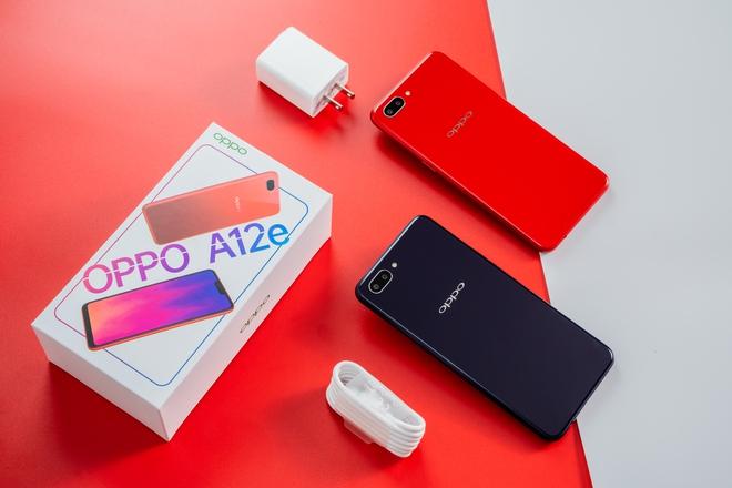 OPPO A12e chính thức lên kệ tại Việt Nam: Camera kép, Snapdragon 450, pin 4230mAh, giá 2.99 triệu - Ảnh 2.