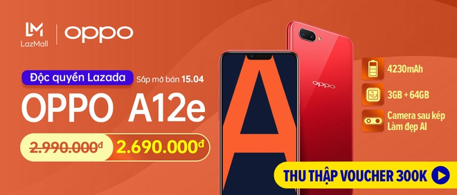 OPPO A12e chính thức lên kệ tại Việt Nam: Camera kép, Snapdragon 450, pin 4230mAh, giá 2.99 triệu - Ảnh 4.
