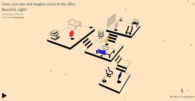Trang web này sẽ mô phỏng tất tần tật tiếng ồn chốn công sở để giúp bạn đỡ cô đơn khi làm việc ở nhà - Ảnh 1.