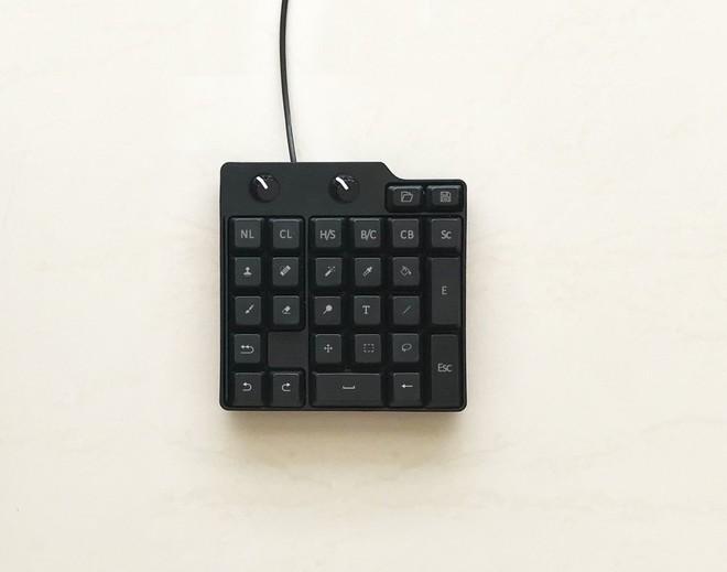 Mẫu bàn phím nhỏ gọn chỉ bao gồm các phím tắt trong Photoshop sẽ là trợ thủ đắc lực cho các designer.