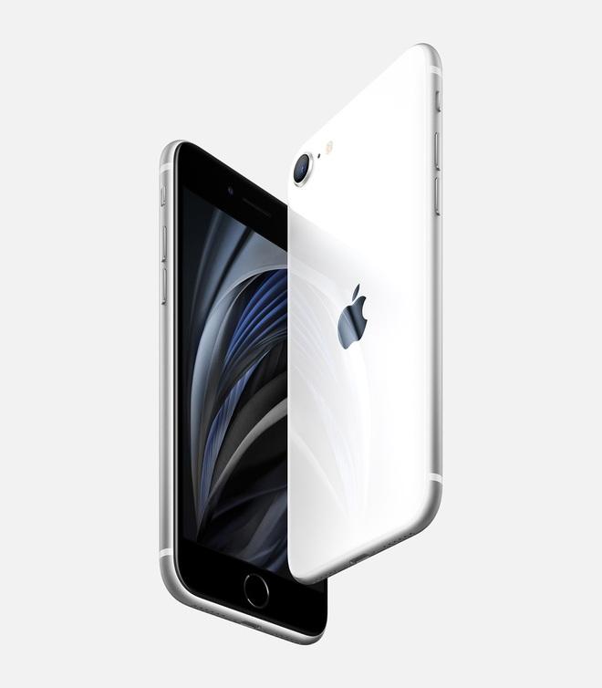 iPhone SE 2020 ra mắt: Thiết kế giống iPhone 8, chip A13 Bionic, hỗ trợ 2 SIM, giá 399 USD - Ảnh 1.