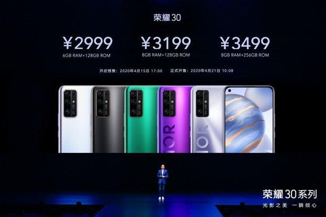 Honor ra mắt Honor 30, 30 Pro và Pro+: Anh em cùng cha khác mẹ với Huawei P40, giá từ 9.9 triệu đồng - Ảnh 8.