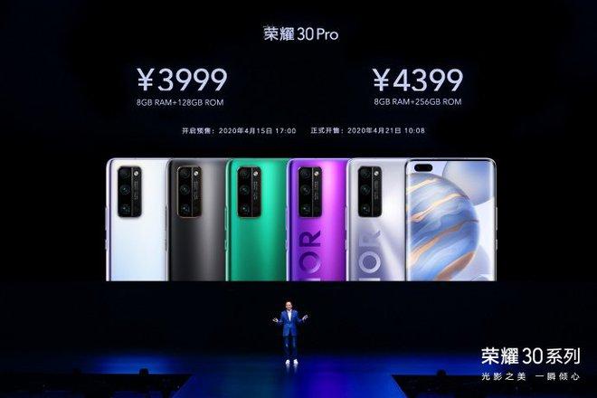 Honor ra mắt Honor 30, 30 Pro và Pro+: Anh em cùng cha khác mẹ với Huawei P40, giá từ 9.9 triệu đồng - Ảnh 9.