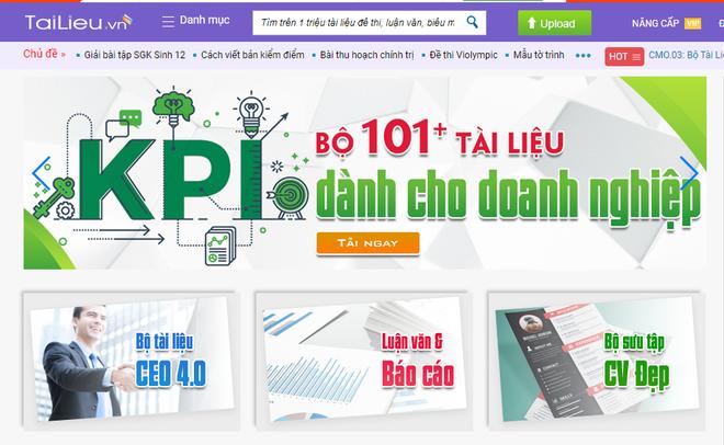 Tailieu.vn là một trong số ít website chia sẻ tài liệu, luận văn, giáo trình có đông đảo người sử dụng tại Việt Nam.
