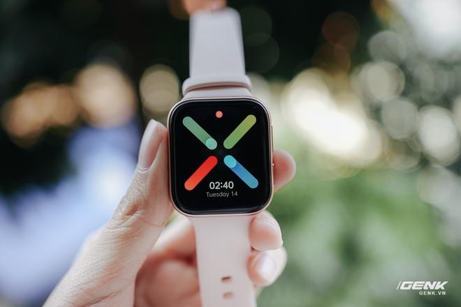 Trên tay OPPO Watch tại VN: Thiết kế đẹp, nhiều tính năng hay ho, pin 40 giờ, giá ngang Apple Watch - Ảnh 4.