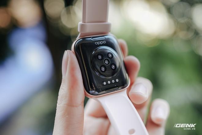 Trên tay OPPO Watch tại VN: Thiết kế đẹp, nhiều tính năng hay ho, pin 40 giờ, giá ngang Apple Watch - Ảnh 5.
