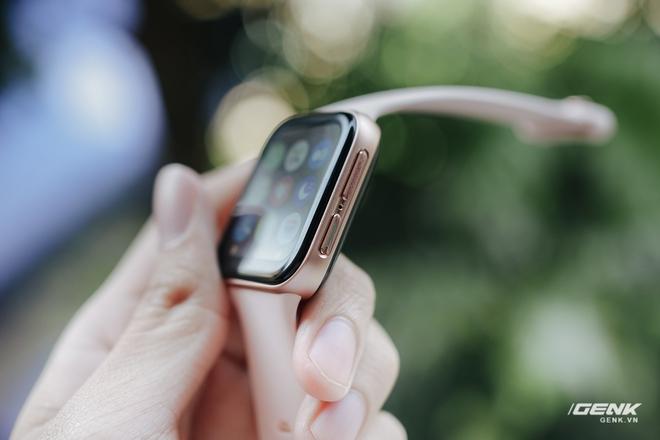 Trên tay OPPO Watch tại VN: Thiết kế đẹp, nhiều tính năng hay ho, pin 40 giờ, giá ngang Apple Watch - Ảnh 6.