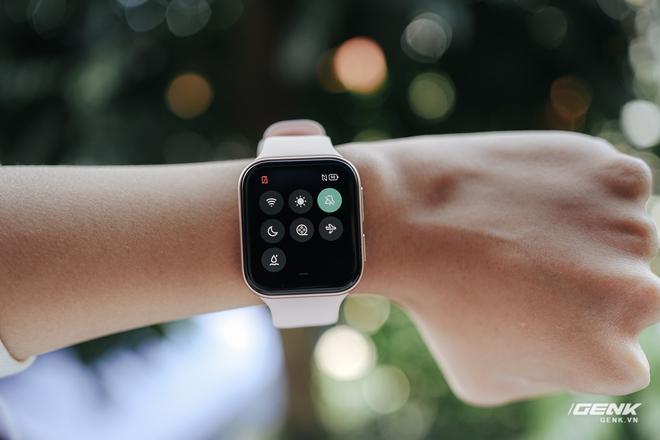 Trên tay OPPO Watch tại VN: Thiết kế đẹp, nhiều tính năng hay ho, pin 40 giờ, giá ngang Apple Watch - Ảnh 15.