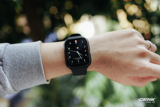 Trên tay OPPO Watch tại VN: Thiết kế đẹp, nhiều tính năng hay ho, pin 40 giờ, giá ngang Apple Watch - Ảnh 19.