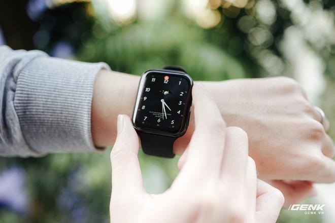 Trên tay OPPO Watch tại VN: Thiết kế đẹp, nhiều tính năng hay ho, pin 40 giờ, giá ngang Apple Watch - Ảnh 20.