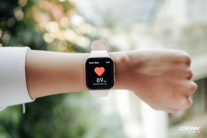 Trên tay OPPO Watch tại VN: Thiết kế đẹp, nhiều tính năng hay ho, pin 40 giờ, giá ngang Apple Watch - Ảnh 17.