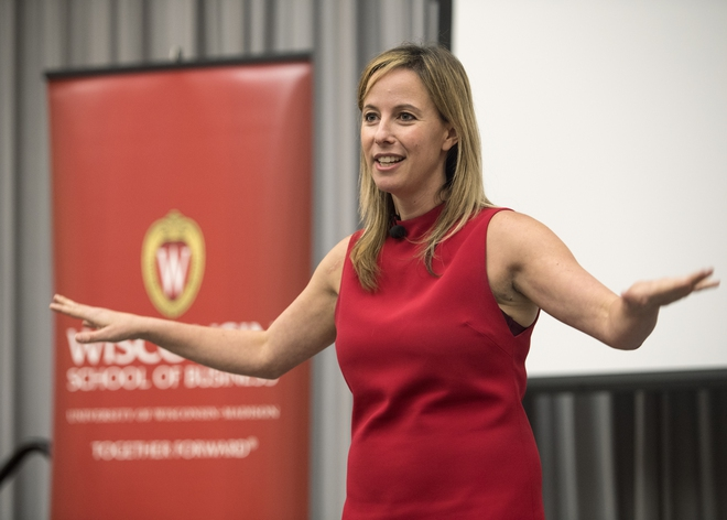 Kristen Berman, nhà khoa học hành vi sáng lập Irrational Labs.