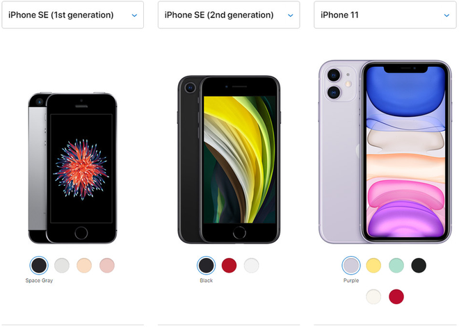 """iPhone SE 2020 là """"chiếc đinh"""" cuối cùng Apple đóng vào cỗ quan tài của những chiếc smartphone màn hình nhỏ - Ảnh 2."""