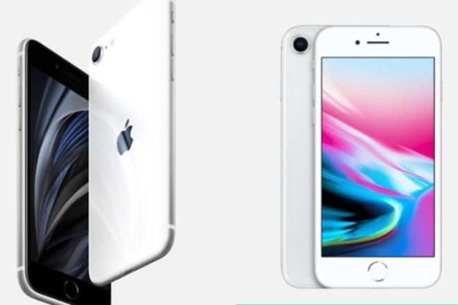 Thiết kế của iPhone SE bị đánh giá là lỗi thời vì không có nhiều khác biệt so với iPhone 8.