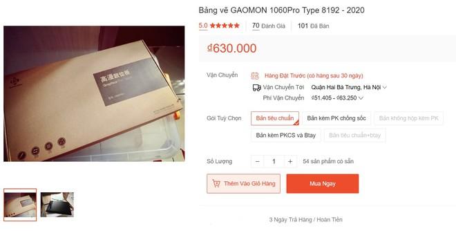 Dùng thử bảng vẽ Gaomon 1060Pro: Giá chỉ 600k nhưng trải nghiệm không thua hàng Wacom tầm 2 triệu, có tin được không? - Ảnh 3.