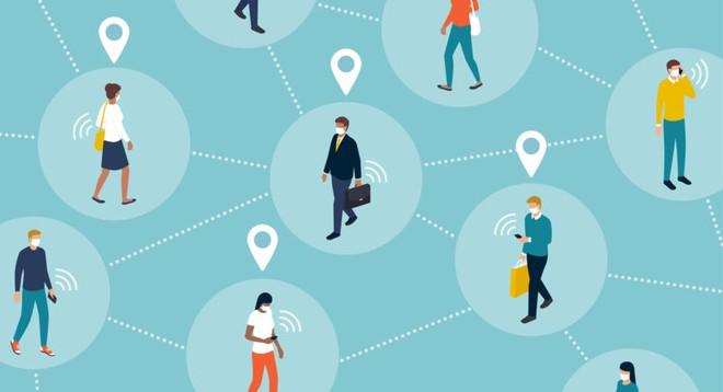 [Infographic] Công nghệ Bluetooth đang được sử dụng để xác định nguy cơ lây nhiễm COVID-19 của bạn như thế nào? - Ảnh 3.