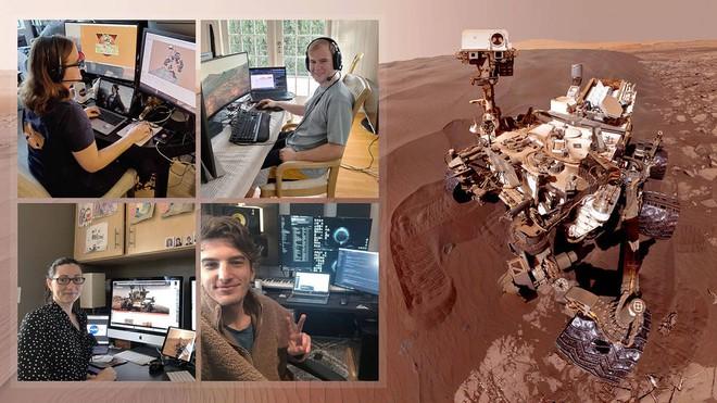 Sáng tạo khi làm việc tại nhà: kỹ sư NASA dùng kính 3D 2 màu xanh, đỏ để điều khiển robot thám hiểm Sao Hỏa - Ảnh 1.