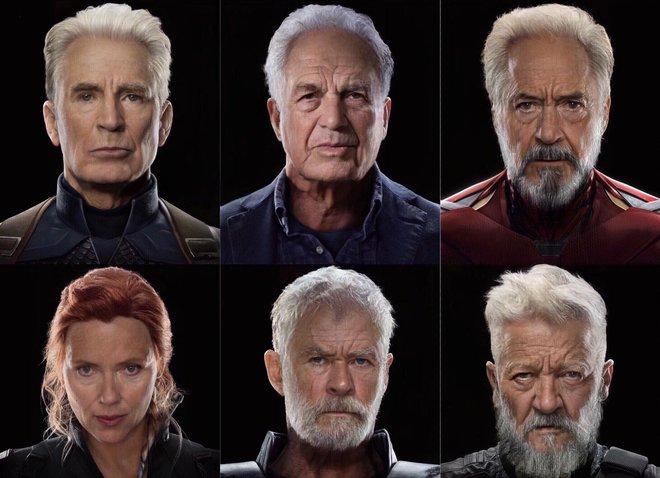 Fan trổ tài photoshop biến Avengers thành hội người cao tuổi, Cap vẫn đẹp lão không kém phiên bản chính chủ của Marvel - Ảnh 1.