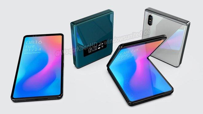 Xiaomi đang phát triển smartphone màn hình gập vỏ sò giống Galaxy Z Flip - Ảnh 1.