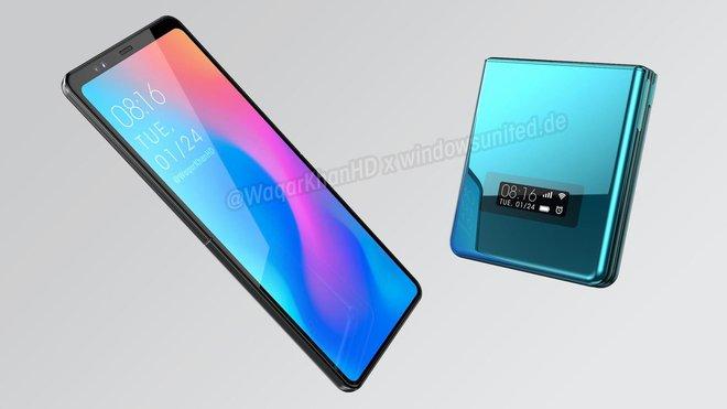 Xiaomi đang phát triển smartphone màn hình gập vỏ sò giống Galaxy Z Flip - Ảnh 2.