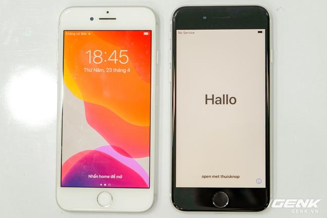 Cận cảnh iPhone SE 2020 đầu tiên tại Việt Nam: Thiết kế giống iPhone 8, giá từ 12.7 triệu đồng - Ảnh 7.