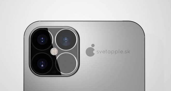 """Xuất hiện thêm concept iPhone 12: """"Tai thỏ"""" vẫn còn nhưng lại vừa mắt lạ thường, cảm biến LiDAR chắc chắn sẽ xuất hiện ở cụm camera sau - Ảnh 5."""