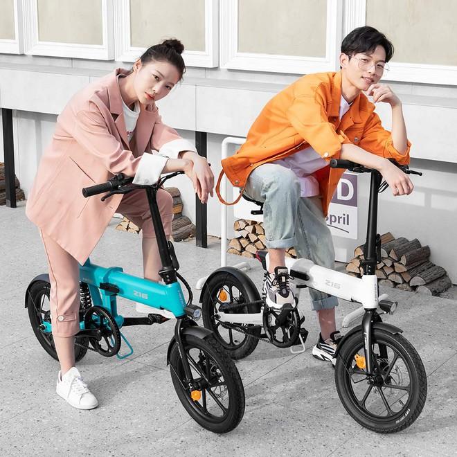 Xiaomi ra mắt xe đạp điện gấp HIMO Z16: Thiết kế nhỏ gọn, đi được 80km, giá 8.3 triệu đồng - Ảnh 1.