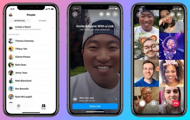 Đối đầu với Zoom, Facebook ra mắt Messenger Rooms, cho phép gọi video không giới hạn thời gian với 50 người cùng lúc - Ảnh 2.