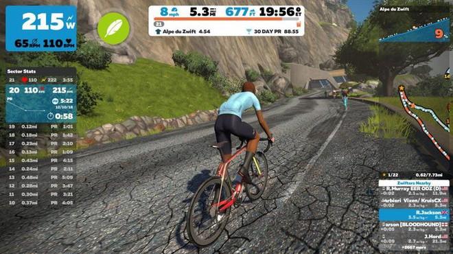 TP.HCM lần đầu tổ chức giải đua xe đạp online: Phiên bản ảo nhưng vẫn phải đạp xe như thường, mệt hơn cả đua thật - Ảnh 3.