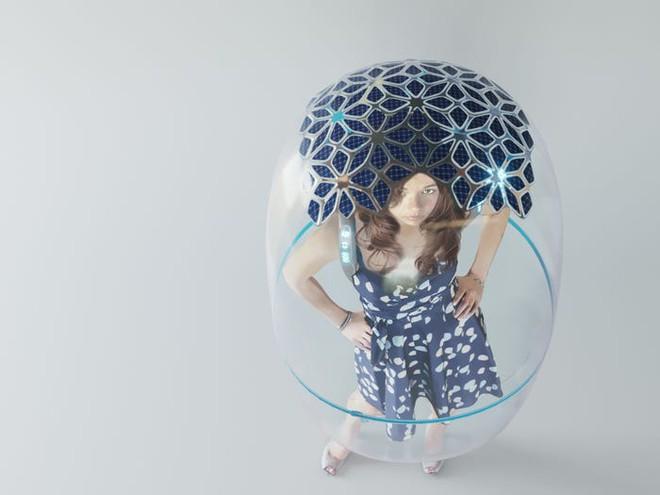 Sau Trung Quốc đến lượt Ý phát triển nguyên mẫu bong bóng toàn thân giúp bảo vệ mọi người khỏi COVID-19 - Ảnh 4.