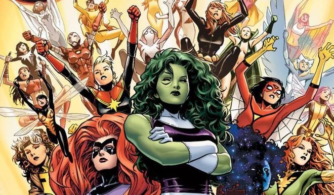 10 nữ anh hùng mạnh nhất biệt đội Avengers - Ảnh 1.