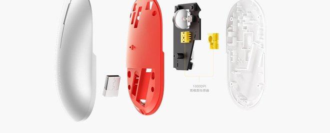 Xiaomi ra mắt chuột không dây vỏ kim loại, kết nối Bluetooth và 2.4GHz, giá chỉ 330.000 đồng - Ảnh 4.