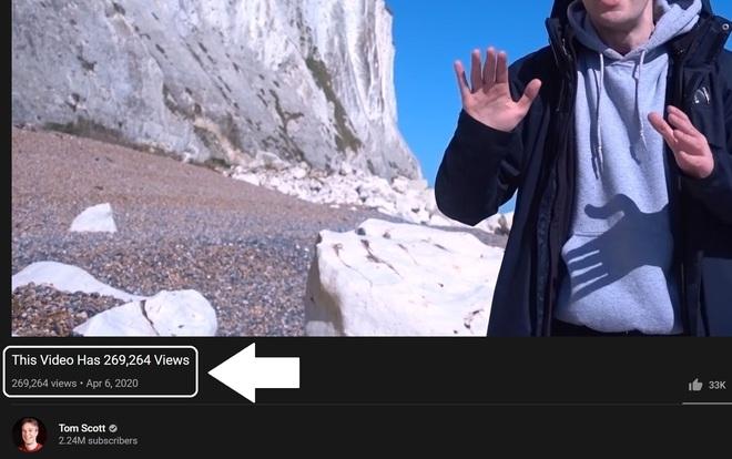 Như trò ảo thuật: Youtuber này tìm được cách đổi tiêu đề video của mình thành số lượt xem theo thời gian thực - Ảnh 1.