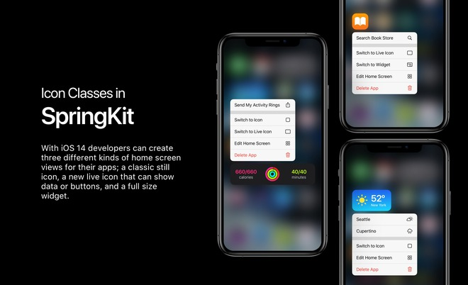 Concept iOS với widget trên màn hình chính: giống live tile của Windows Phone, nhưng ngon hơn nhiều - Ảnh 2.